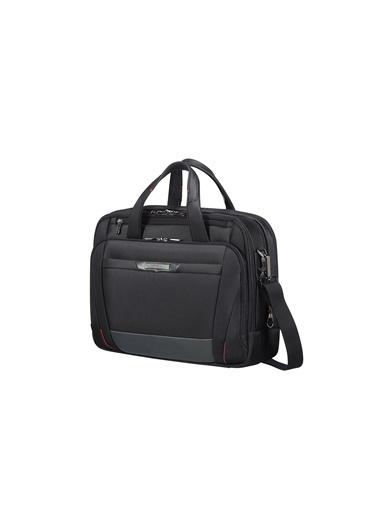 "Samsonite Samsonite Pro-Dlx 5 - 15,6"" Körüklü Laptop Çantası Siyah"